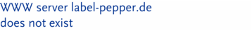 WWW server label-pepper.de  does not exist